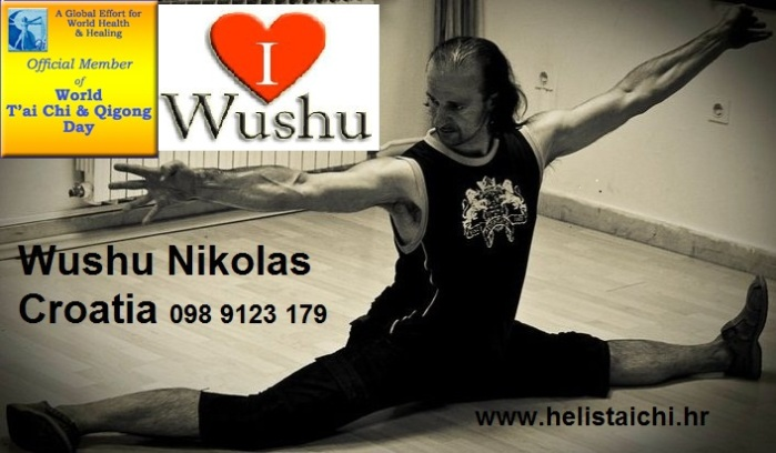 wushu coach and athlete